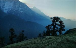 Dawn in Triund - Places to visit in Dharamsala
