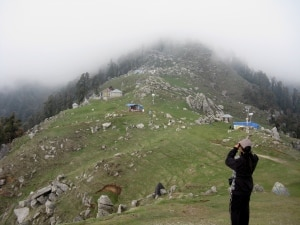 Taking in Triund while Trekking in India