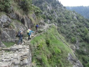 The Rocky Road to Triund - Mcleodganj trekking